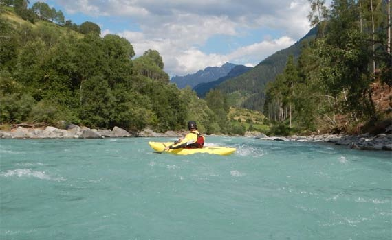 Private kayak/raft boat lessons/courses
